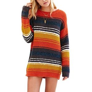 Urban Outfitters BDG Multi-colored Striped Sweater